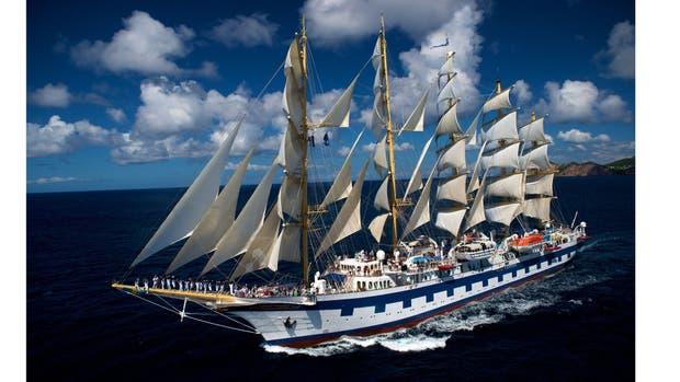 Post crucerismo: grandes veleros con itinerarios exclusivos