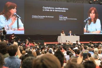 Cristina Kirchner llamó a crear