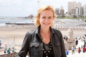La actriz, en su paso por el Festival de Mar del Plata