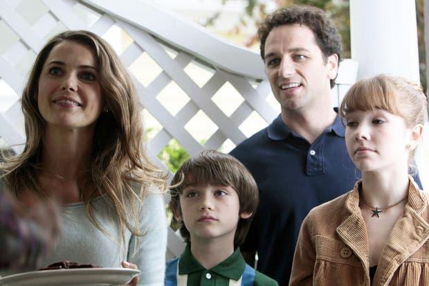 La familia de The Americans, protagonistas de la serie