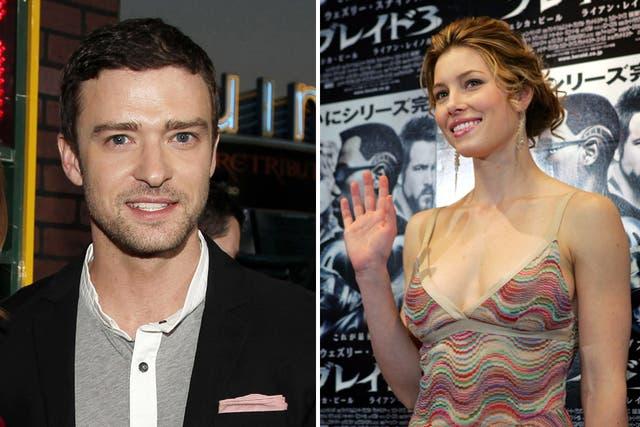 Timberlake y Biel, una pareja que tuvo idas y vueltas