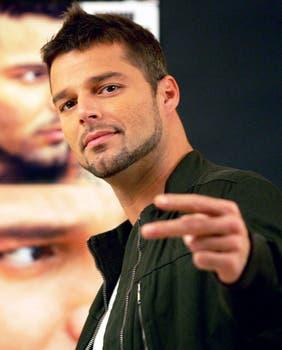 Ricky Martin: Enrique Martín Morales y el Kiki para la familia. Foto: AFP