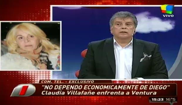 El duro cruce entre Villafañe y Ventura.