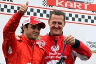 """Felipe Massa dijo que Michael Schumacher tuvo """"algunas reacciones"""" cuando lo visitó"""