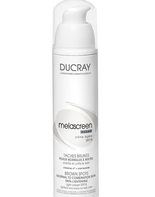 Melascreen Iluminador FPS 15. 3 en 1: hidrata, unifica el tono y protege ($217, Ducray).