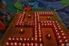En el hinduismo la esvástica es símbolo de paz y prosperidad