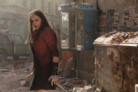 Elizabeth Olsen es Bruja Escarlata