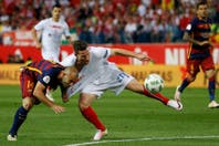 Mirá la falta que le costó la tarjeta roja a Mascherano en la final de la Copa del Rey