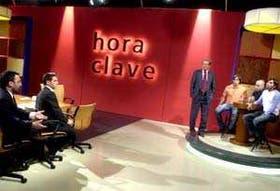 Gerardo Rozín, Fernando Carnota, Mariano Grondona e invitados, en la hora del debate