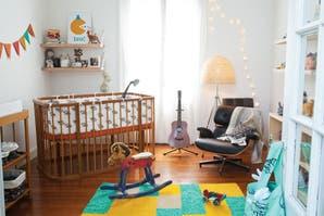 Dos estilos para un cuarto de bebé