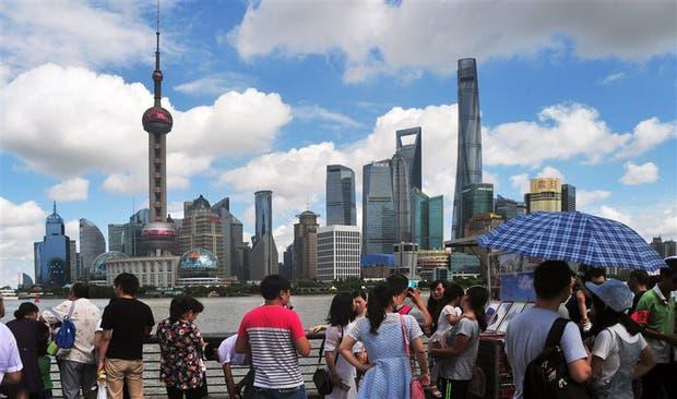 Los rascacielos predominan en la pujante Shanghai
