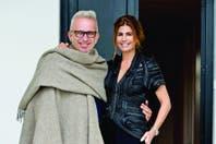 """Jean-Paul Gaultier: """"Juliana Awada es inteligente, elegante, graciosa; parece una mujer fuerte"""""""