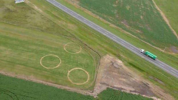 ¿Cuál sería el origen de los círculos de Carmen de Areco?
