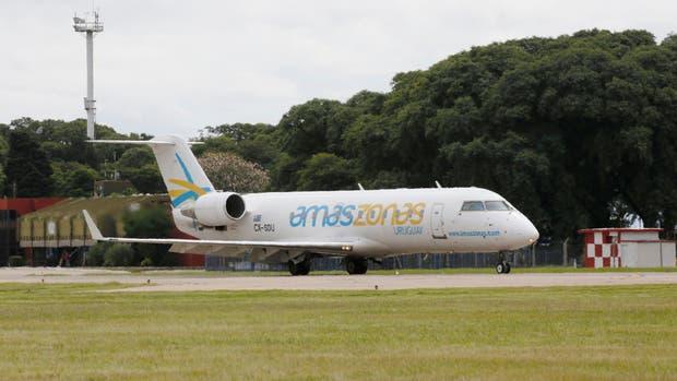 Los vuelos entre Córdoba y Montevideo de Amaszonas