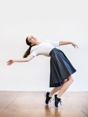 """Andrea Servera: """"Vivo la danza no como algo elitista, sino como un lugar abierto a mucha gente"""""""