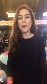 """11 de septiembre 2017: Joanna Picetti en el cierre de campaña """"Vamos Juntos"""" en Ferro"""