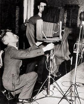 Edward Steichen, en su estudio, en San Francisco