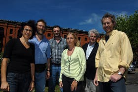 Andrea Gamarnik, Pablo Wappner, Fernando Goldbaum, Ana Belén Elgoyhen, Armando Parodi y Alejandro Schinder