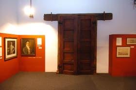 La puerta de la sala donde se proclamó la Independencia