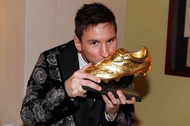 El saco de Messi y su tercer Botín de Oro
