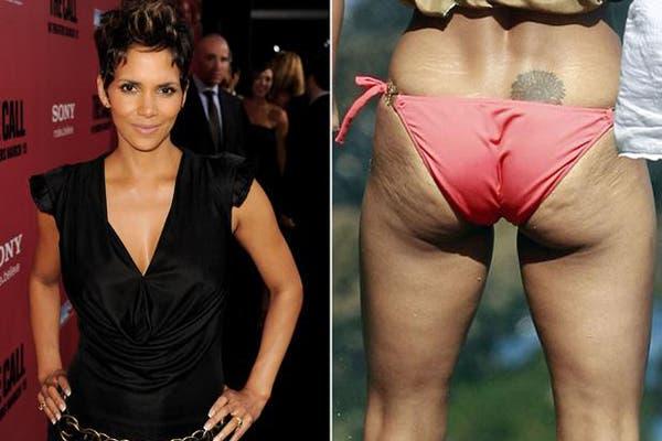 ¡Hasta Halle Berry, que tiene un cuerpo escultural, tiene celulitis!. Foto: Gentileza Infobae