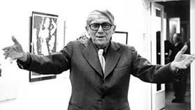 El pintor y profesor de arte, Arnold Bode