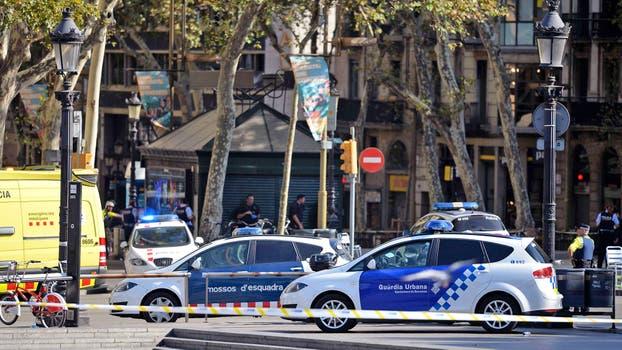 Segundo ataque en Barcelona deja 6 heridos, 4 presuntos terroristas muertos