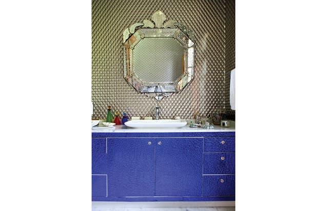 Muebles Baño Ambiente Azul: azul francia del mueble es el aporte de glamour y modernidad Foto
