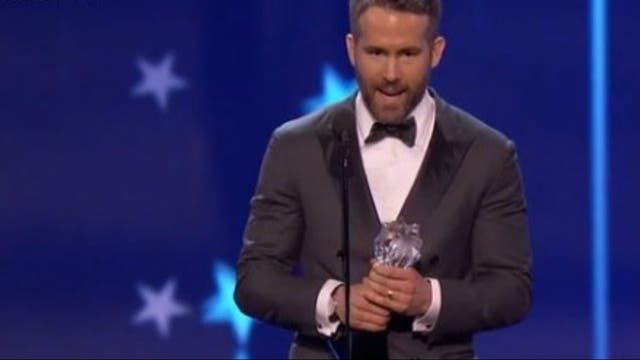 Ryan Reynolds, mejor actor de comedia por Deadpool