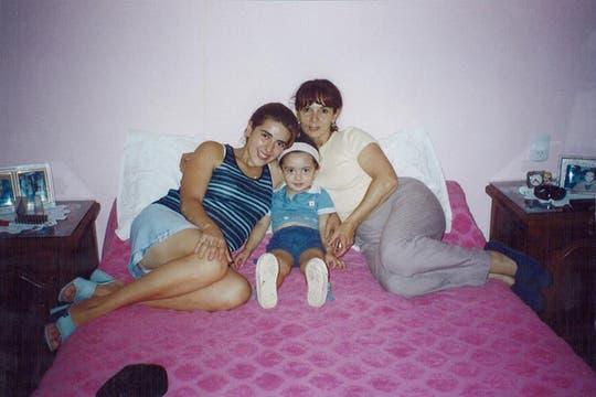 Susana, Marita y Micaela en su casa de Tucumán. Foto: Facebook / Susana Trimarco