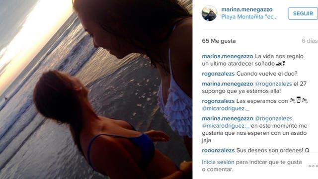 Marina Menegazzo y María José Coni, de 21 y 22 año