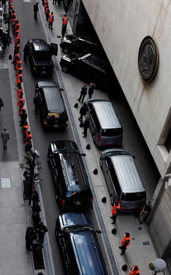 La entrada a la Bolsa de Valores de Buenos Aires. Foto: Reuters / Martín Acosta