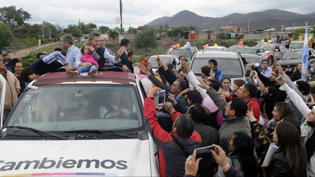 Mauricio Macri, en Salta