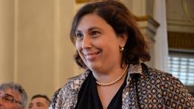 Paula Oliveto, una de las referentes de la CC que competirá en las legislativas