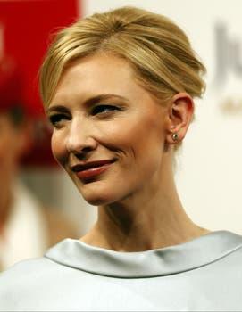 Cate Blanchett disfrutó del Festival Internacional de Cine, en Dubai. Foto: AFP