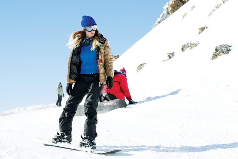 Por supuesto, que hubo tiempo para los deportes en la nieve. ¿Qué tal Lucía?.