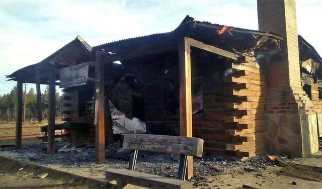 Acusan a mapuches de incendiar La Trochita