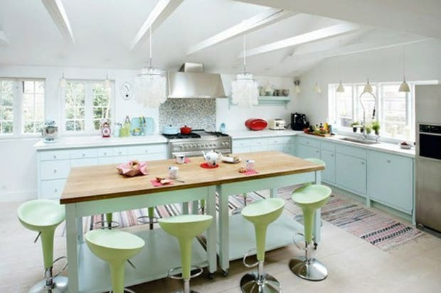 Ideas para decorar con tonos pastel - Living - ESPACIO LIVING