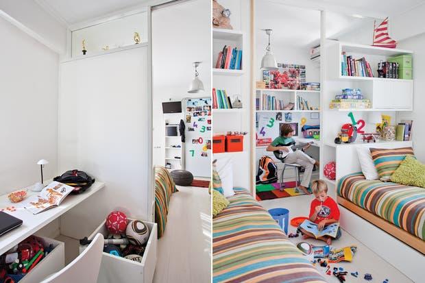 Gemelas de estilo: si hay más de un ocupante, la opción natural es elegir camas idénticas para crear un clima coherente y armónico..  /Archivo LIVING.