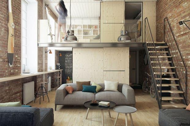 Un patrón que se repite: las puertas corredizas arriba y abajo.  /Cdn.home-designing.com