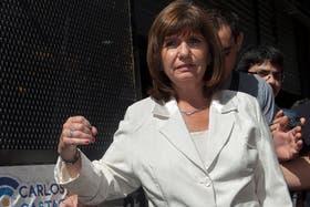 """Patricia Bullrich, en la Justicia por el caso Nisman: """"Me dijo que un agente había pasado información sobre él y su familia a uno de los imputados la causa AMIA"""""""