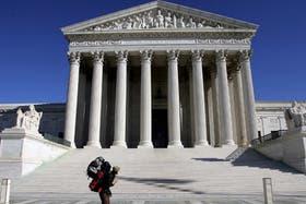 El edificio de la Corte Suprema de EE.UU.