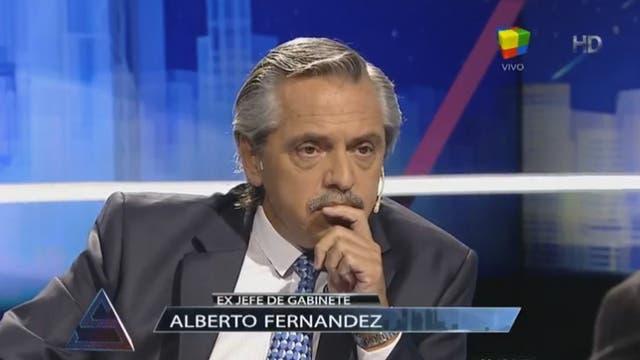 Alberto Fernández, ex jefe de Gabinete