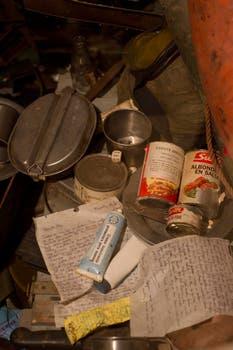 En el museo de la ciudad hay una sala dedicada a la guerra de 1982, ahí se pueden ver gran cantidad de de cosas que pertenecieron a los soldados argentinos. Foto: Archivo / Rodrigo Néspolo / LA NACION