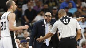 El coach de Memphis ironizó sobre la actuación de Manu