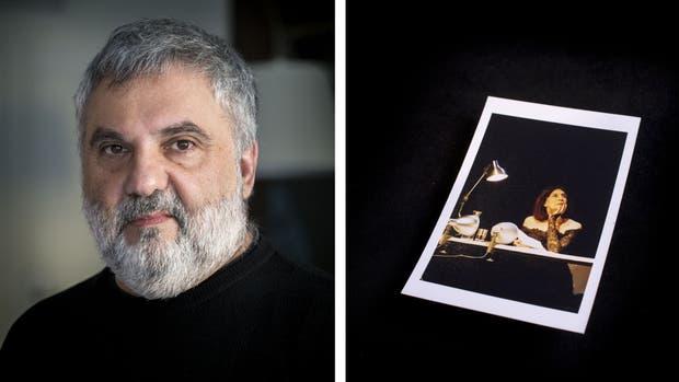 """""""En 2006 hicimos unas lecturas en homenaje a Ibsen en el San Martín con Alfredo Alcón y Elena Tasisto. Desde entonces, Elena siempre fue una compañía en mi vida. Esta foro es de una de las funciones de ese recital."""" Fotos: Leo Vaca/AFV"""