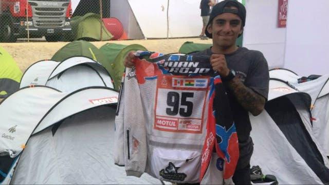 Juan Rojo, participante en la categoría malle motos