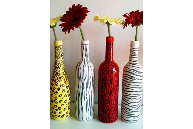 Botellas pintadas imagui - Como pintar botellas de plastico ...