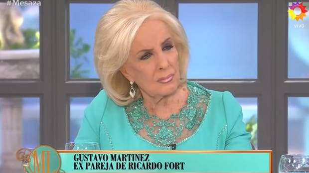Mirtha Legrand se quebró al hablar de Fort