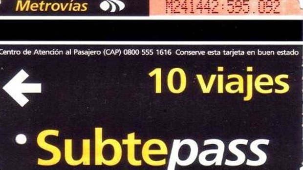 A partir de hoy no se podrá comprar más la subtepass y quienes las posean podrán usarla hasta el 31 de mayo